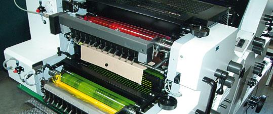 Druckwerk einer W+D 224